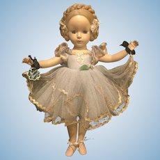 "14"" hard plastic Alexander ballerina"