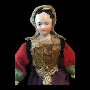 Early French market china doll