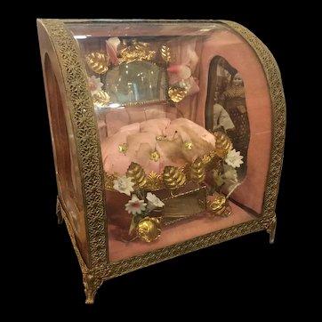 French wedding display vitrine