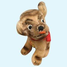Vintage stieff Mopsy dog
