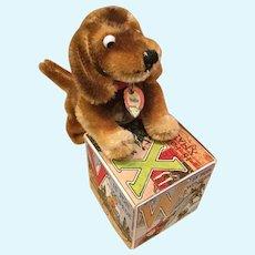 Fine vintage Steiff dachshund