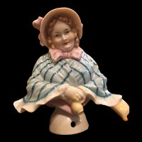 Rare German Half, or Pincushion Doll
