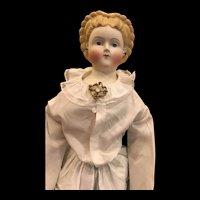Antique German Parian Bisque Doll.