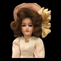 "Antique German 18"" Simon & Halbig 1159 Lady Doll"