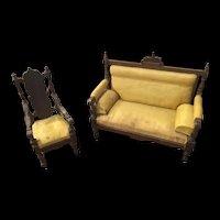 19th Century German Dollhouse Furniture