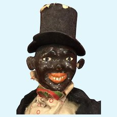 Antique Black Schoenhut Character Figure
