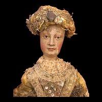 Early 18th Century German Angel Figure