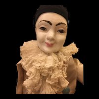 Late 19th Century French Pierrot Doll
