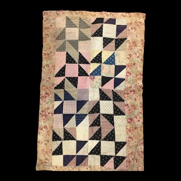 Early 20th Century  Doll Quilt
