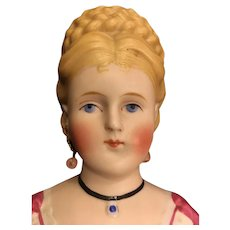 Early Parian Bisque Doll