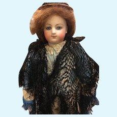 Antique French Fashion Doll Shawl