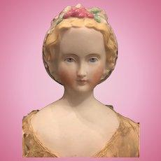 German bisque Parian doll