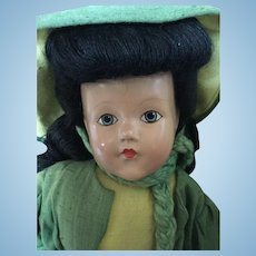 Vintage EFFANBEE junior miss composition doll
