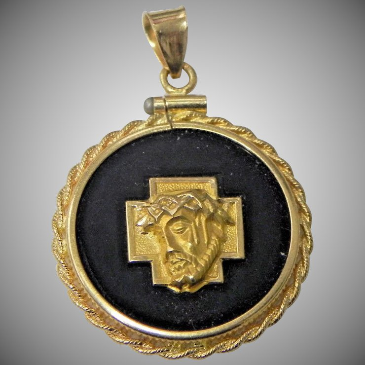 hip s medallion hop pendant pave face gold jesus products micro iced plated out brass