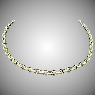 Pomellato 18K Heavy link Necklace 17 inches
