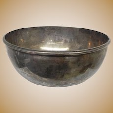 Large Tiffany & Co Bowl with English Hallmarks  Over 31 ounces