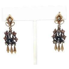 Aituzzi Jewelry 18k Rose Gold Dangling Earrings