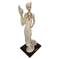 Giuseppi Armani Lady with Parrot 0393F