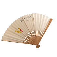 Japanese paper and bamboo hand fan