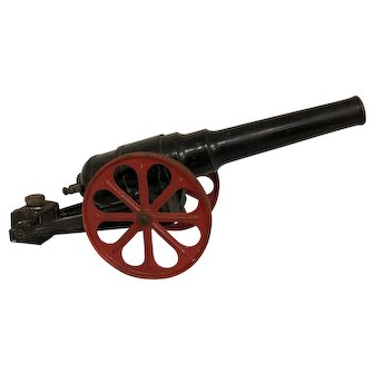 Cast Iron Toy Cannon
