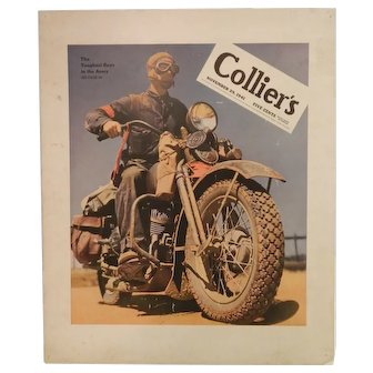 Colliers November 29, 1941 Magazine Cover Poster