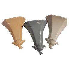 Abingdon Pottery Sconce Set