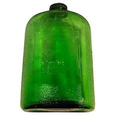 1930's Refrigerator Water Bottle - Green