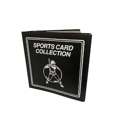 Base ball card album filled with cards