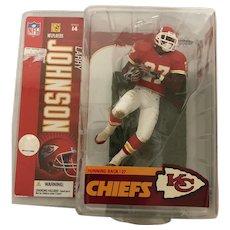 Larry Johnson Sports Figurine McFarlane's Sports 14th Series NFL