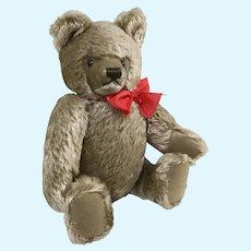 """15"""" Steiff Mohair Teddy Bear w lentil button in ear"""