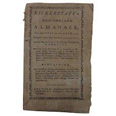 Bickerstaff's 1779 New-England Almanack  by J. Trumbull