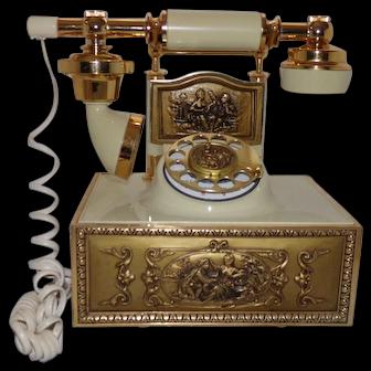 Elegant French Style Rotary Telephone