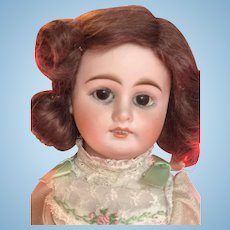 Antique Character Face Kuhnlenz Bisque Doll Made for the French Market