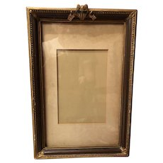 World War 2 era Military Picture Frame