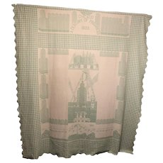 1933 Chicago World's Fair Coverlet