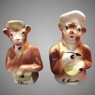 Borden's Elsie and Elmer Salt and Pepper Shakers