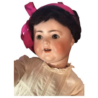 Burggrub Character Baby Doll Bisque Head