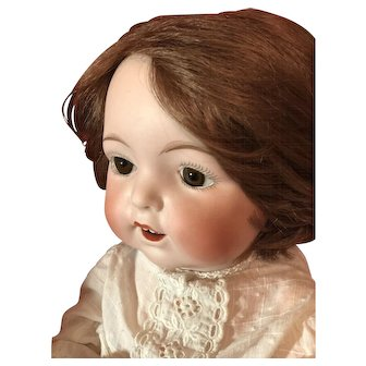 Fulper  Character Baby Bisque Head Doll Made In USA