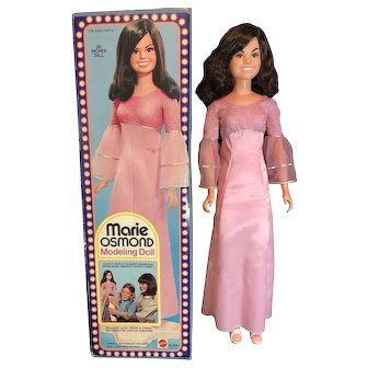 Marie Osmond Modeling Doll by Mattel