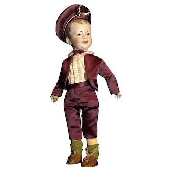 French Bisque Character Boy Doll SFBJ 227