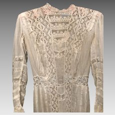 Lacy Edwardian Summer Dress