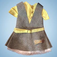Petitcollin French Doll Dress for Hard Plastic or Vinyl