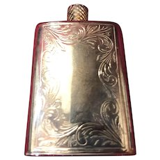 Silver perfume Bottle Flask