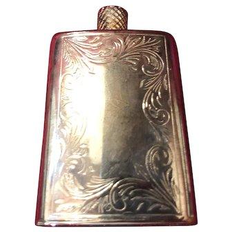 Silver perfume Bottle Flask