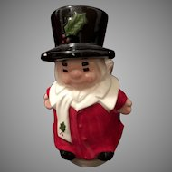 Marshall Field's Chicago  Uncle Mistletoe Christmas Music Box Figure