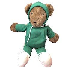 Plush North American Running Teddy Bear