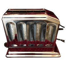 Early Art Deco Waters-Genter Electric Toaster