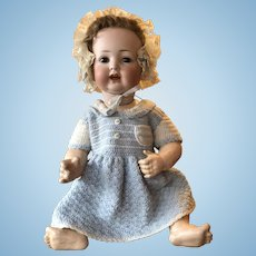 Antique Kley and Hahn German Bisque Character Baby 167