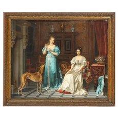 Pierre Paul Emmanuel de Pommayrac, a French Oil Painting