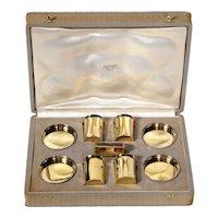 Hermes Paris & Ravinet d'Enfert, a Rare French Silver-Gilt Smoking Set
